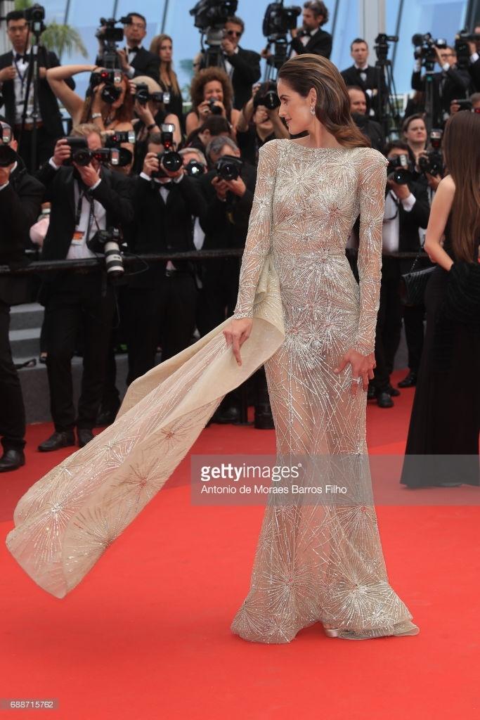 Pham Bang Bang tren tham do Cannes anh 6