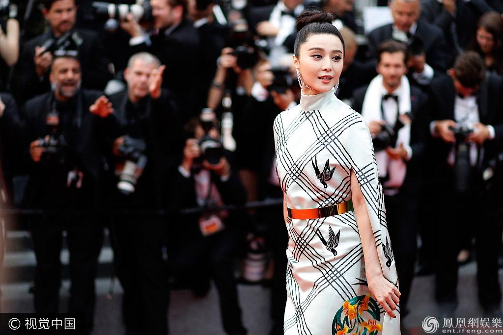 Pham Bang Bang tren tham do Cannes anh 1