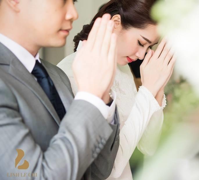 Anh hau truong dam hoi Hoa hau Thu Thao va ban trai dai gia hinh anh 5