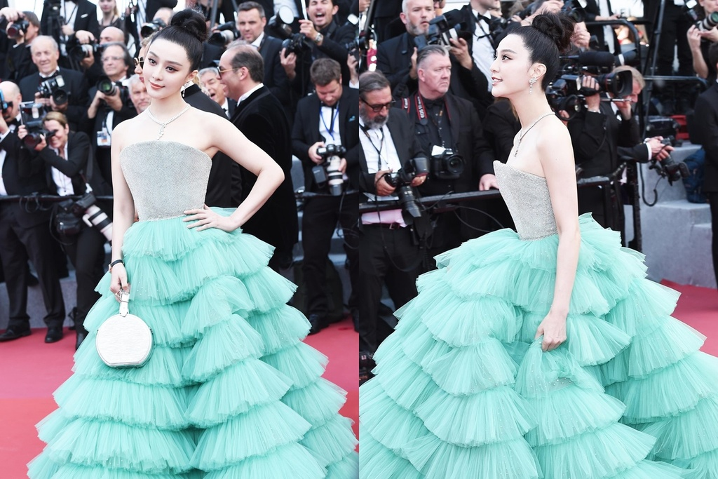 Sao hang A Trung Quoc bi ghe lanh nhu dien vien quan chung o Cannes hinh anh 1