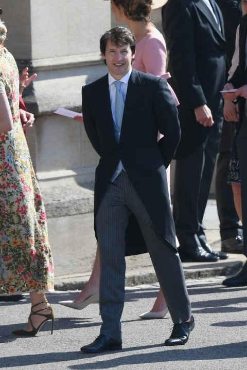 Le cuoi Hoang tu Harry: Vo chong Beckham va dan sao den chuc mung hinh anh 6