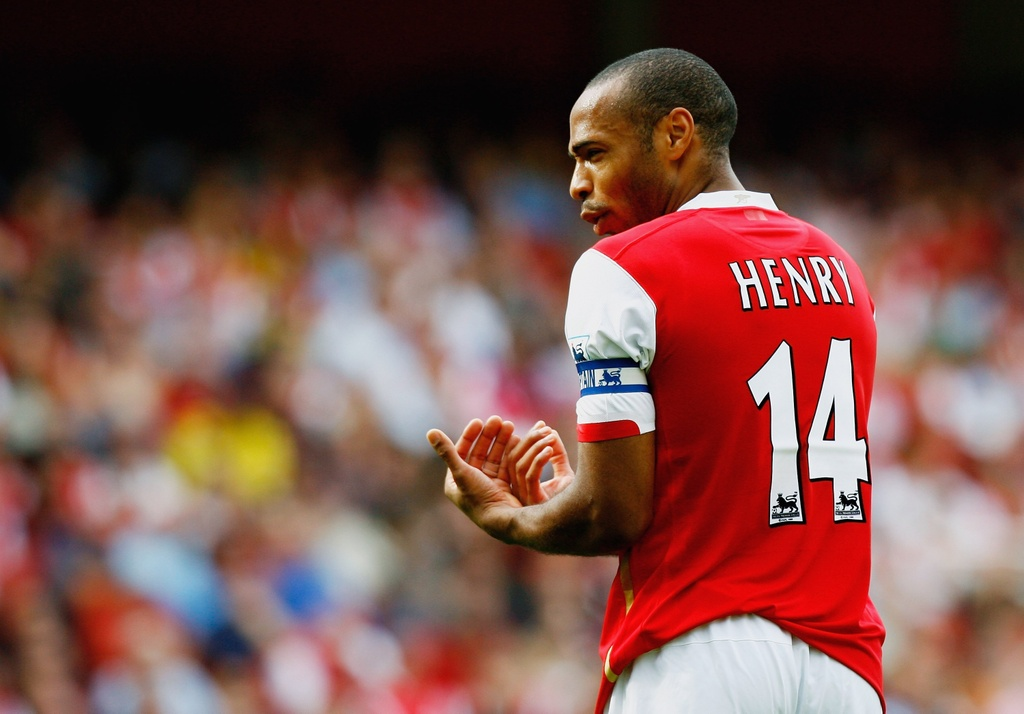 Henry,  Thierry Henry,  Arsenal,  Ngoai hang Anh,  Premier League anh 1