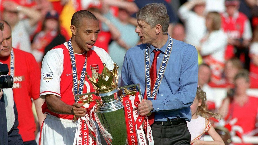 Henry,  Thierry Henry,  Arsenal,  Ngoai hang Anh,  Premier League anh 2