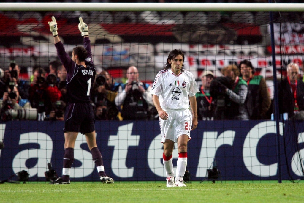 Andrea Pirlo,  AC Milan,  Liverpool,  Champions League anh 1