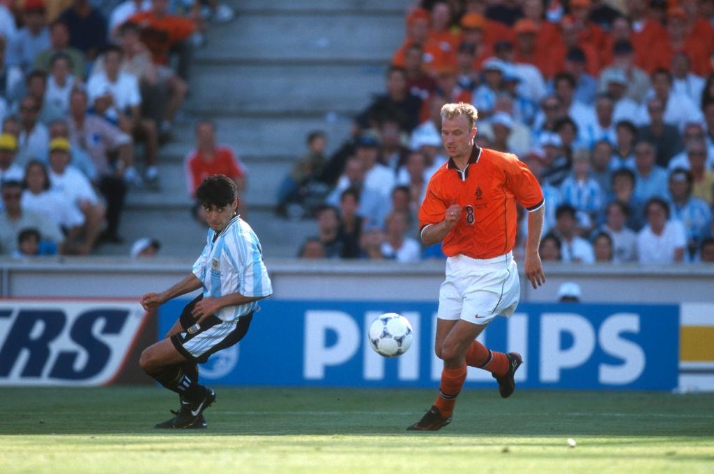 Dennis Bergkamp,  World Cup,  Ha Lan,  Argentina anh 2