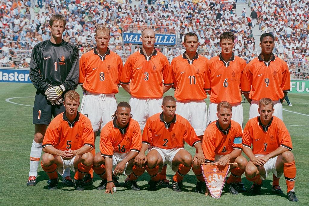 Dennis Bergkamp,  World Cup,  Ha Lan,  Argentina anh 1