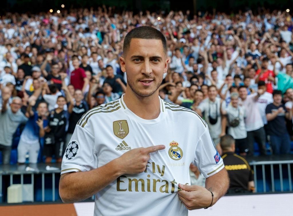 Eden Hazard,  Real Madrid,  La Liga,  Zidane,  Cristiano Ronaldo anh 1