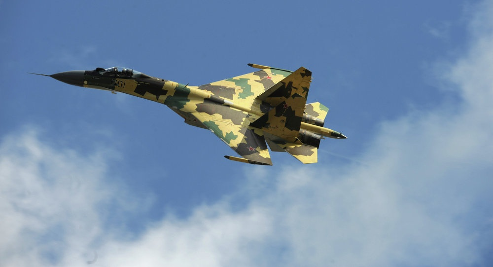 Su-35 doi dau F-22, chien dau co nao uu the hon? hinh anh 1