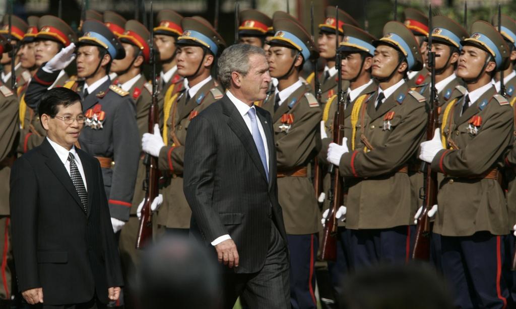 APEC 2006 va chuyen tham nang tam cua Tong thong Bush hinh anh 2