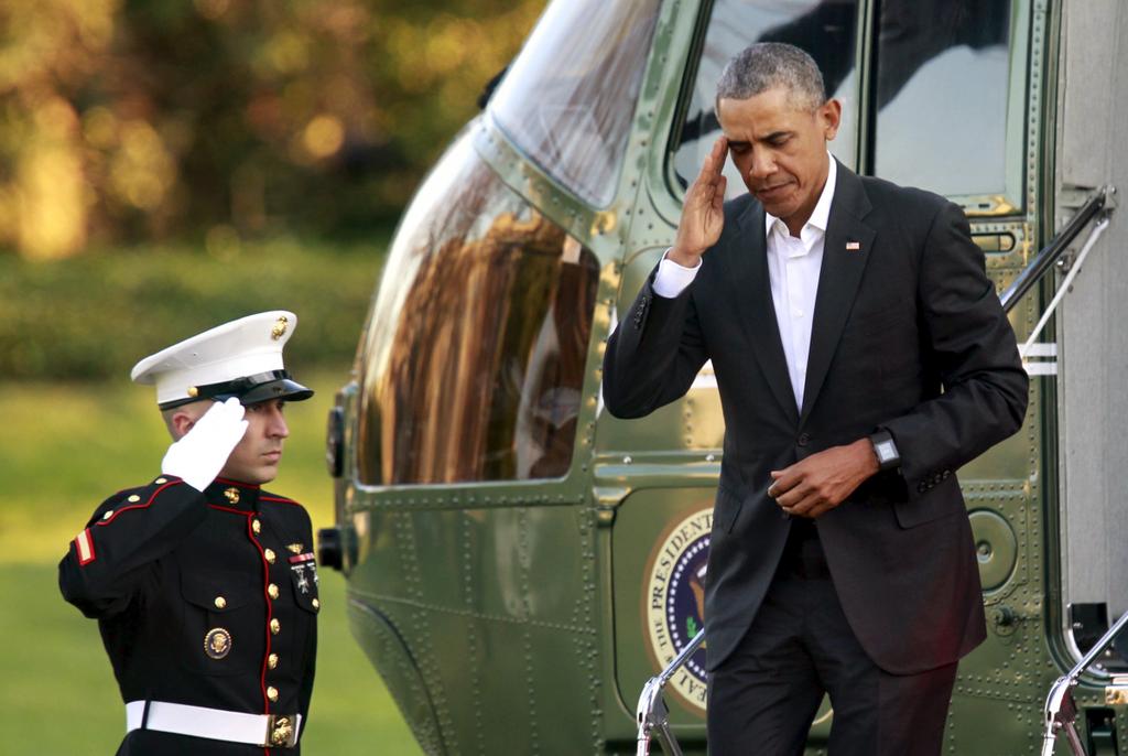 Chuyen co Marine One cua Obama anh 6