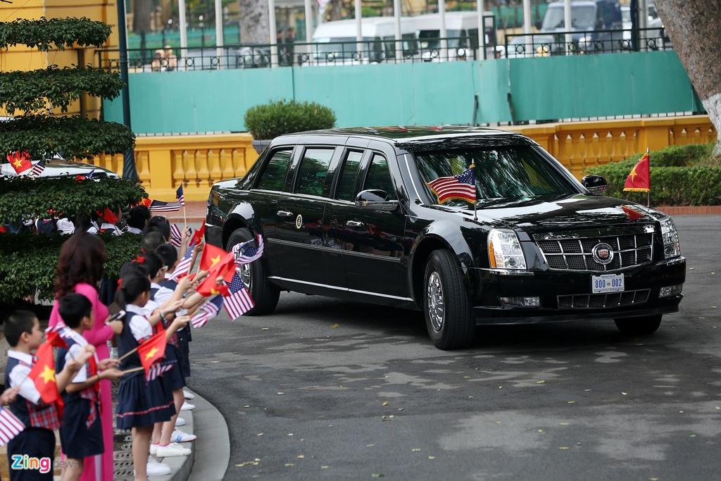 Chu tich nuoc tiep don trang trong Tong thong Obama hinh anh 1
