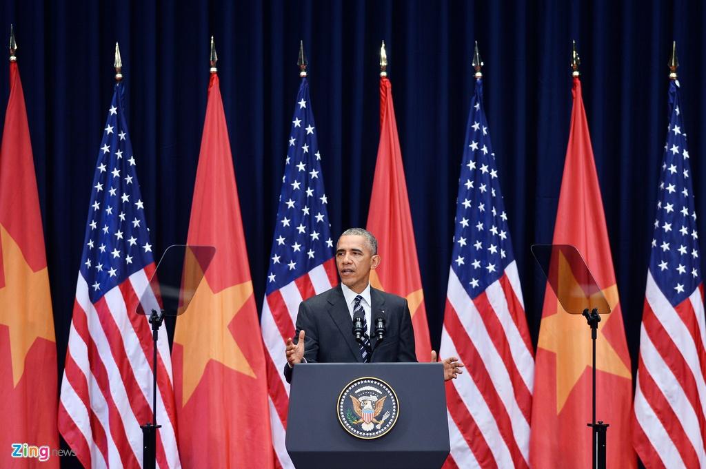 3 ngay cong du Viet Nam cua Tong thong Obama hinh anh 14