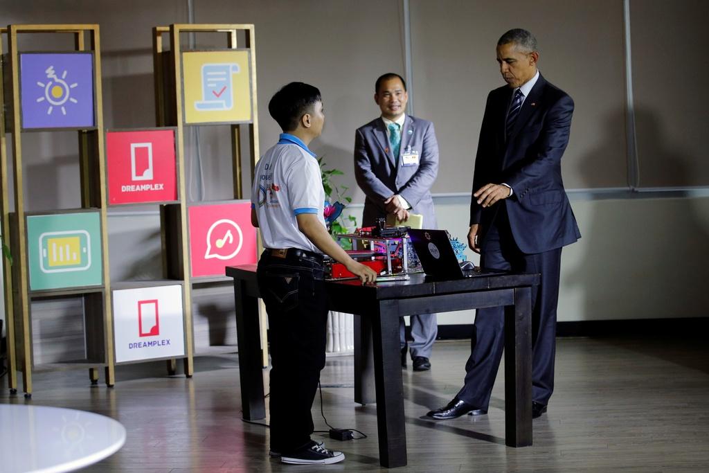 3 ngay cong du Viet Nam cua Tong thong Obama hinh anh 19