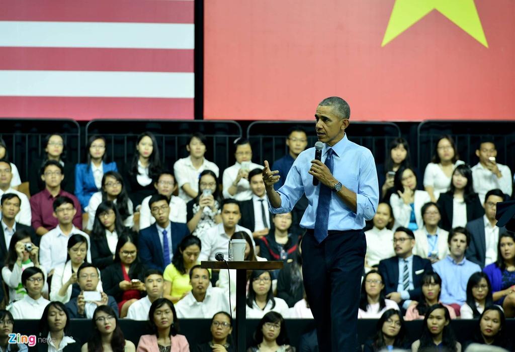 3 ngay cong du Viet Nam cua Tong thong Obama hinh anh 20