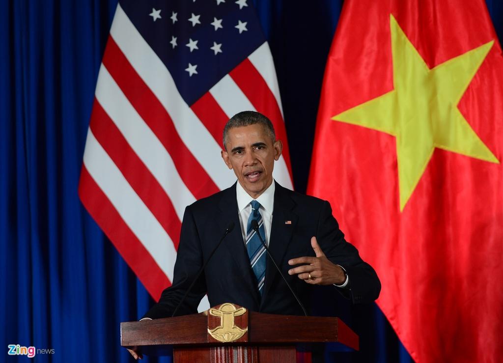 3 ngay cong du Viet Nam cua Tong thong Obama hinh anh 10