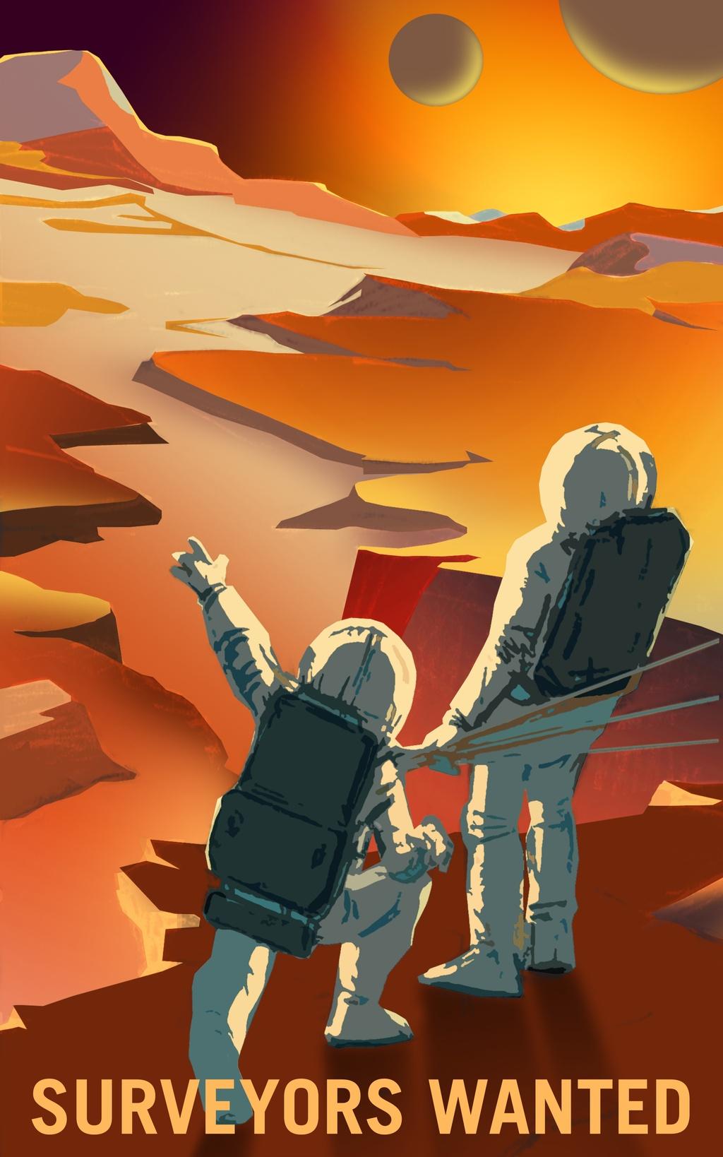 NASA tung poster tuyen nguoi len sao Hoa hinh anh 5