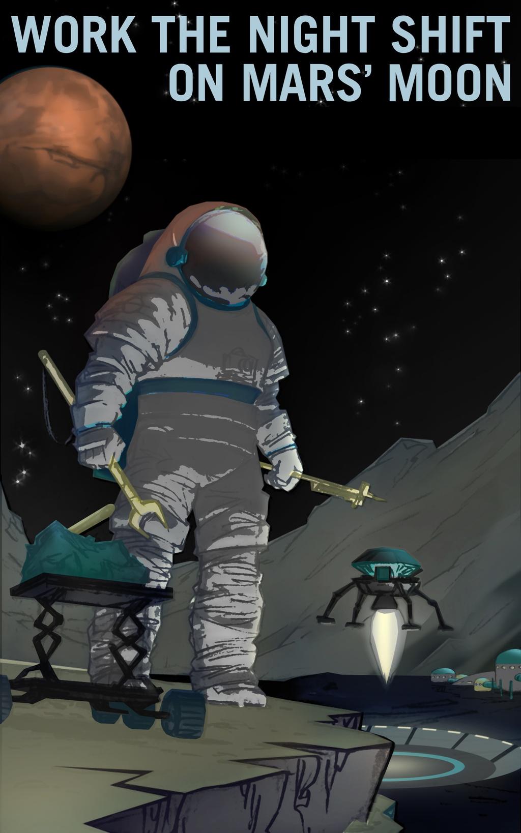NASA tung poster tuyen nguoi len sao Hoa hinh anh 8