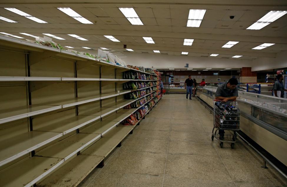 Venezuela: Sieu thi trong, giay ve sinh gia 30 USD mot cuon hinh anh 1