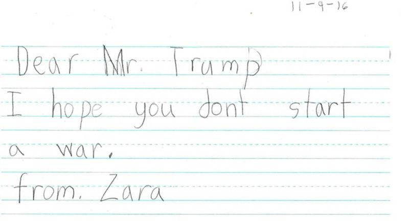Tre em My nhan: 'Ngai Trump, hay tot bung voi moi nguoi!' hinh anh 5