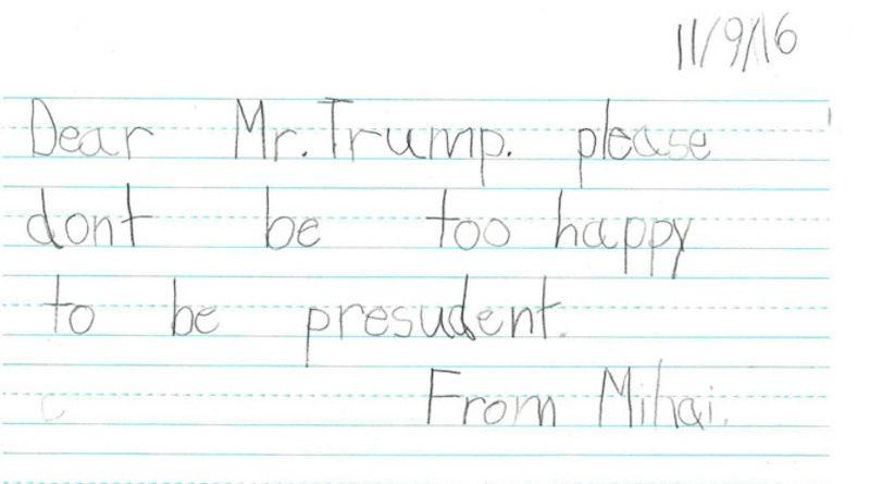 Tre em My nhan: 'Ngai Trump, hay tot bung voi moi nguoi!' hinh anh 7
