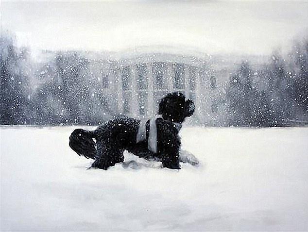 Dan mang 'nuc long' khen thiep Giang sinh nha Obama hinh anh 6