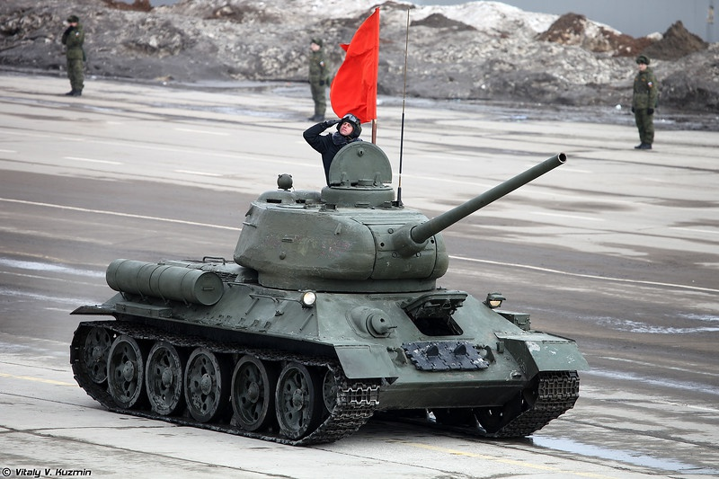 Duyet binh o Nga anh 1