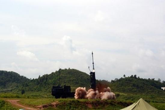 Viet Nam lan dau ban thu ten lua phong khong Spyder hinh anh 2