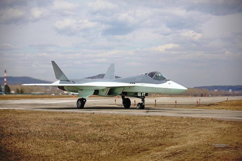 Tiem kich tang hinh Su-57 cua Nga co the qua mat F-22 cua My hinh anh 1