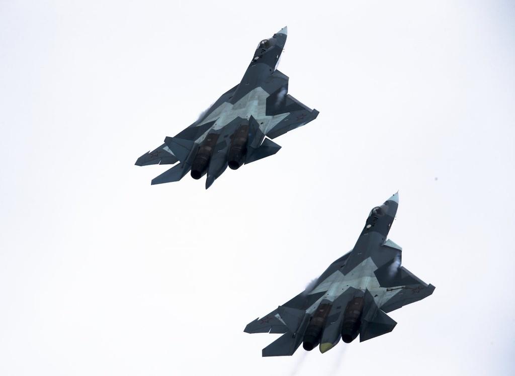 Tiem kich tang hinh Su-57 cua Nga co the qua mat F-22 cua My hinh anh 13
