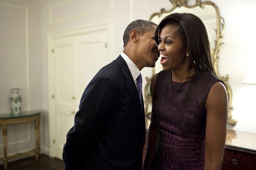 Nhung khoanh khac hanh phuc cua vo chong Tong thong Obama hinh anh 9