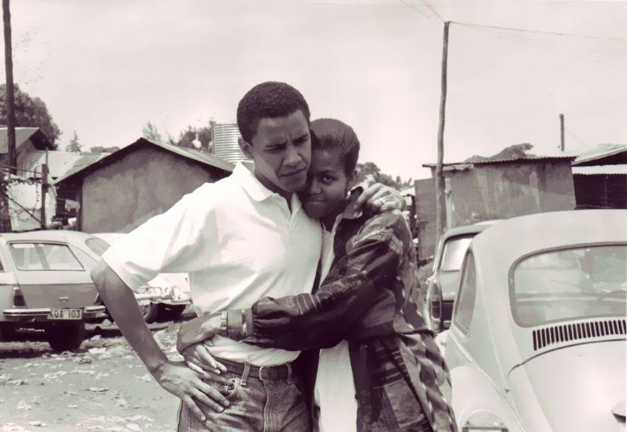 Nhung khoanh khac hanh phuc cua vo chong Tong thong Obama hinh anh 1