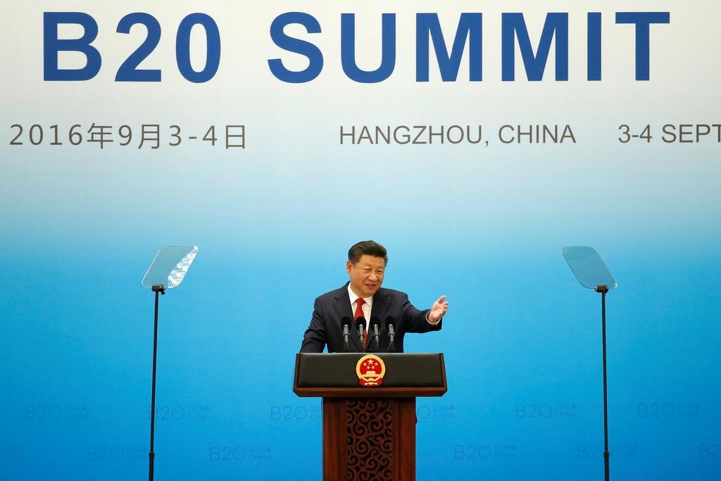 Ong Obama, cac lanh dao quoc te te tuu tai hoi nghi G20 hinh anh 1