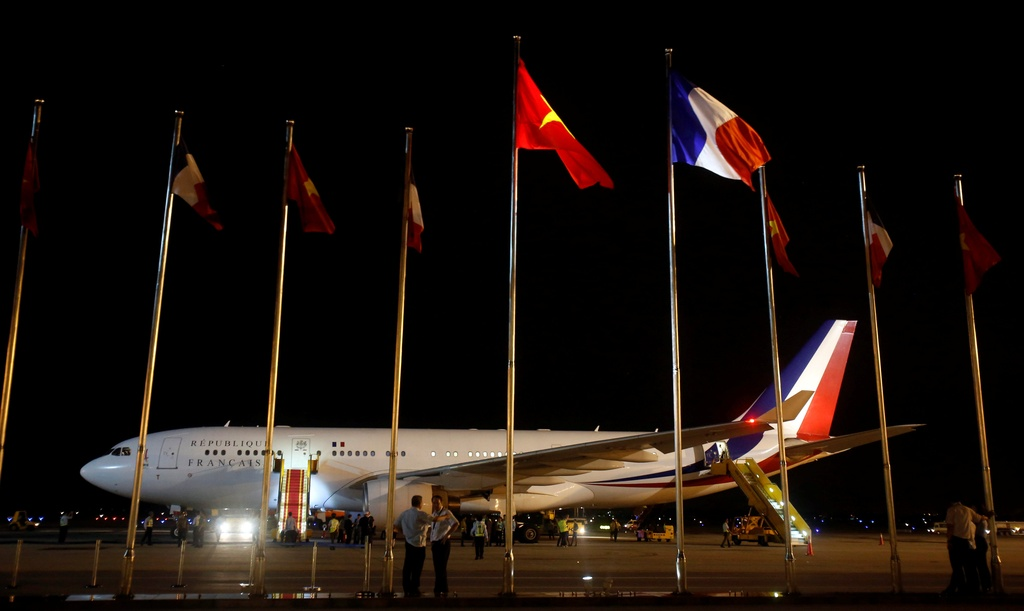 tong thong Phap Francois Hollande tham Viet Nam anh 2