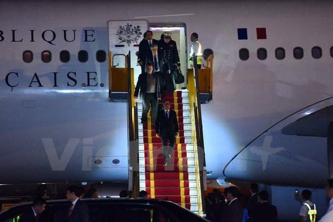 tong thong Phap Francois Hollande tham Viet Nam anh 3
