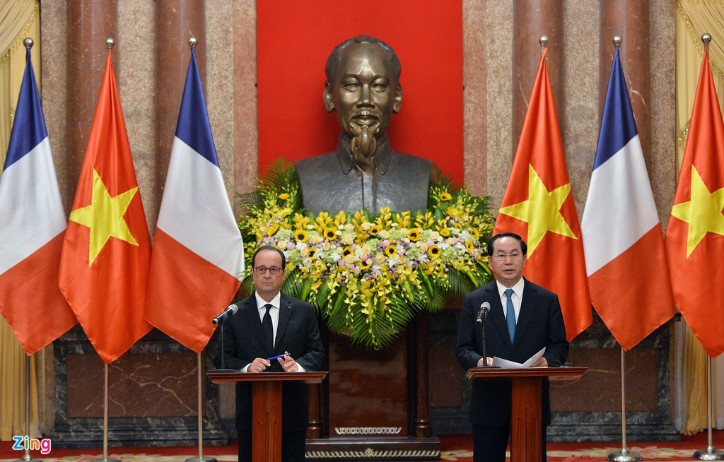 Tong thong Phap Francois Hollande tham Viet Nam anh 9