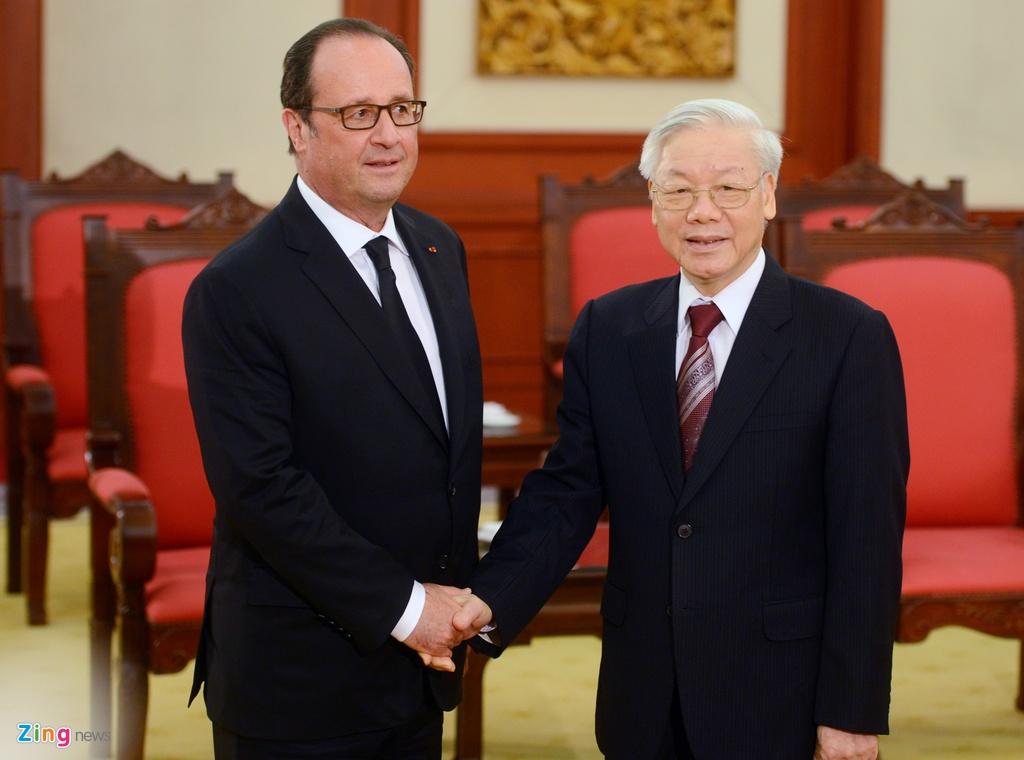 Tong thong Phap Francois Hollande tham Viet Nam anh 13