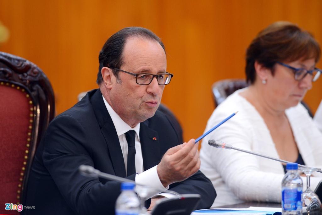 Tong thong Phap Francois Hollande tham Viet Nam anh 11
