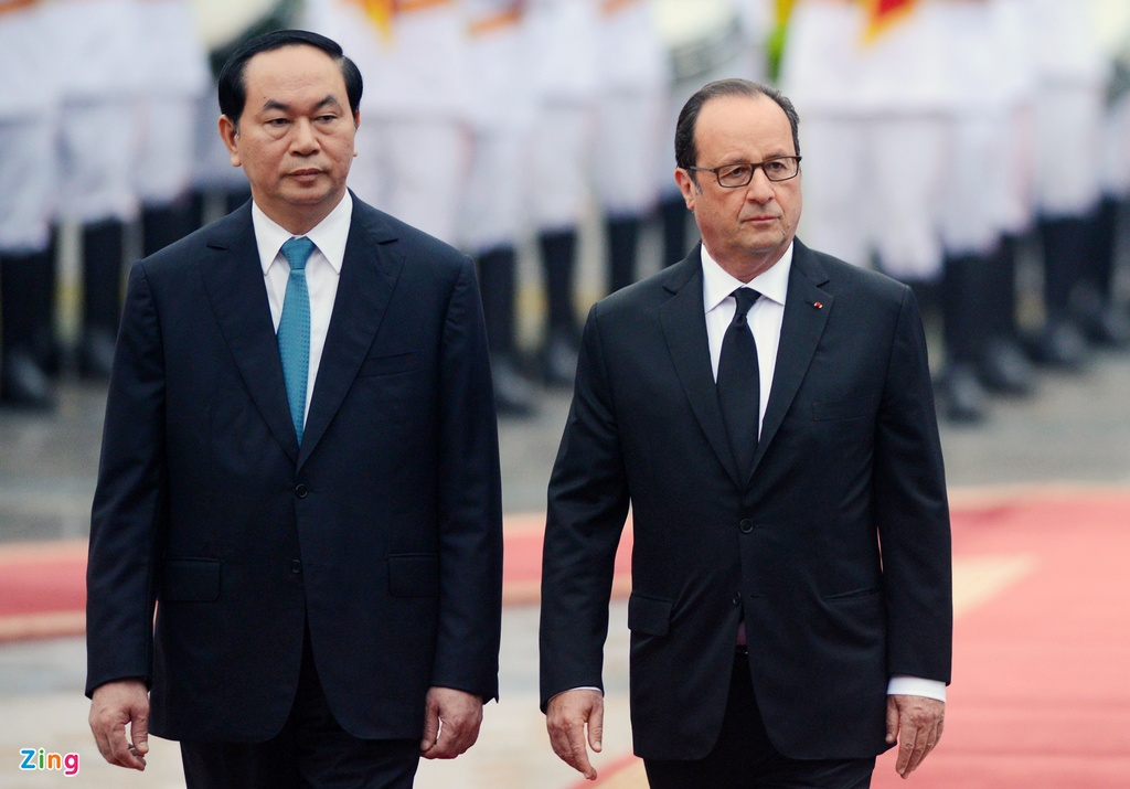 Tong thong Phap Francois Hollande tham Viet Nam anh 4