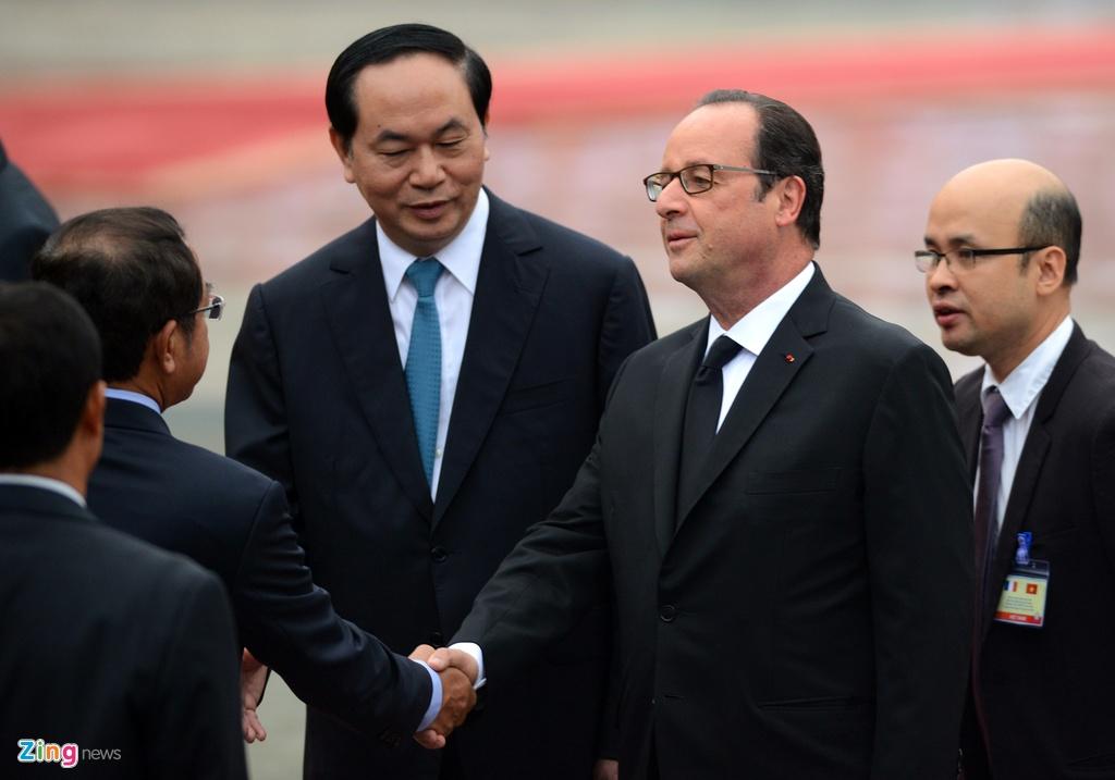 Tong thong Phap Francois Hollande tham Viet Nam anh 5