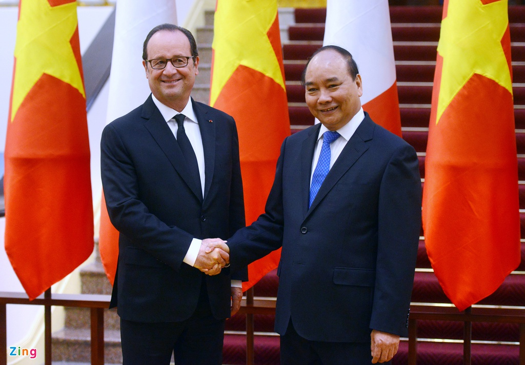 Tong thong Phap Francois Hollande tham Viet Nam anh 10
