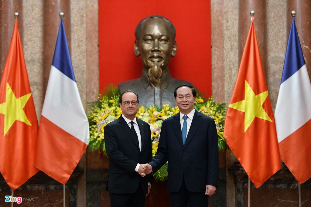 Tong thong Phap Francois Hollande tham Viet Nam anh 6