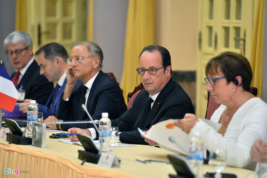 Tong thong Phap Francois Hollande tham Viet Nam anh 8