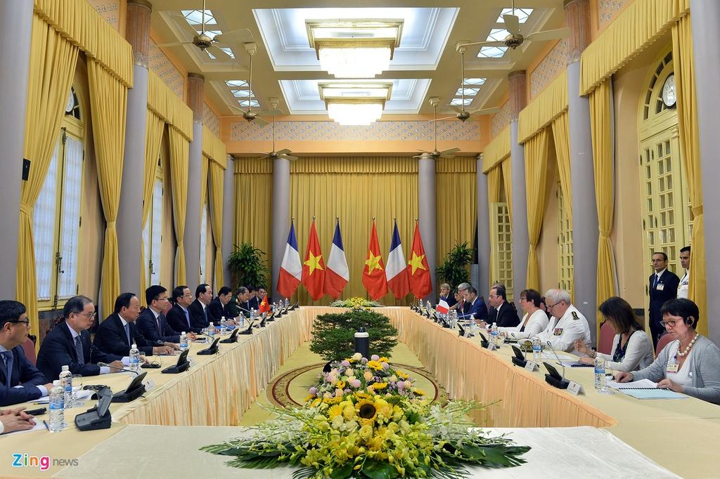 Tong thong Phap Francois Hollande tham Viet Nam anh 7
