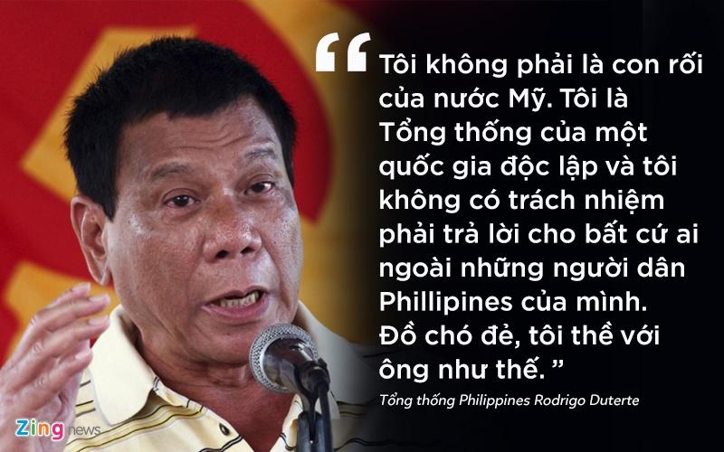 phat ngon gay soc cua tong thong Philippines anh 1