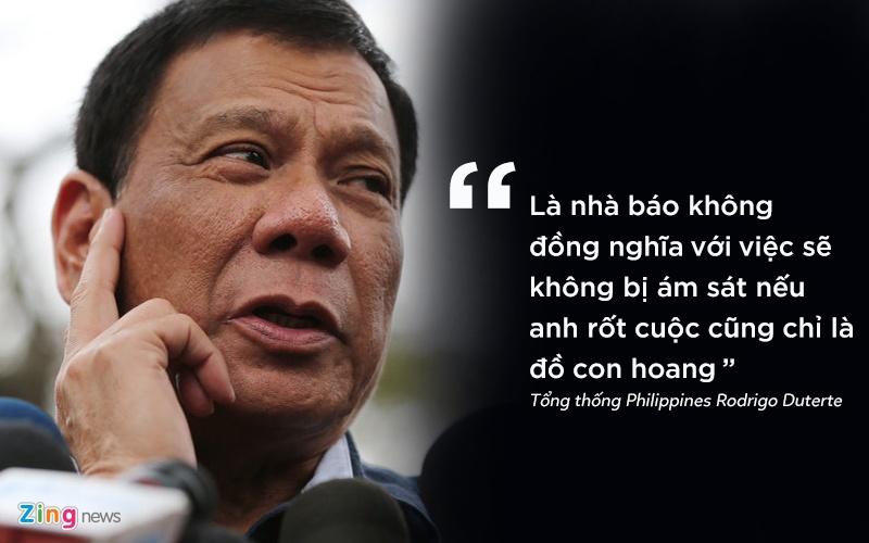 phat ngon gay soc cua tong thong Philippines anh 2