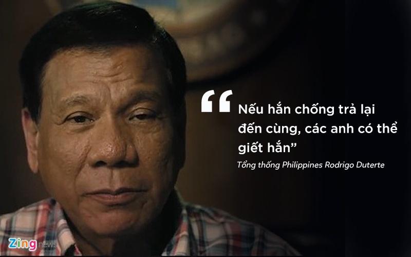 phat ngon gay soc cua tong thong Philippines anh 3