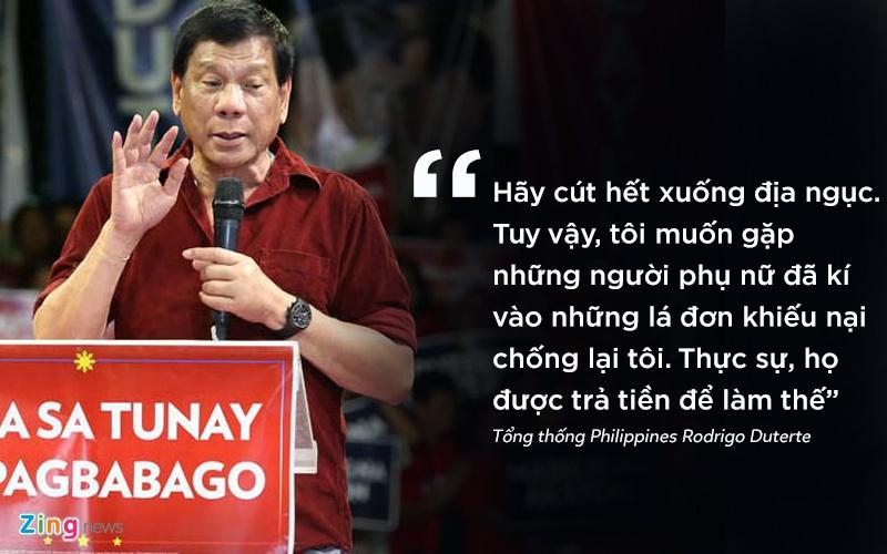 phat ngon gay soc cua tong thong Philippines anh 6