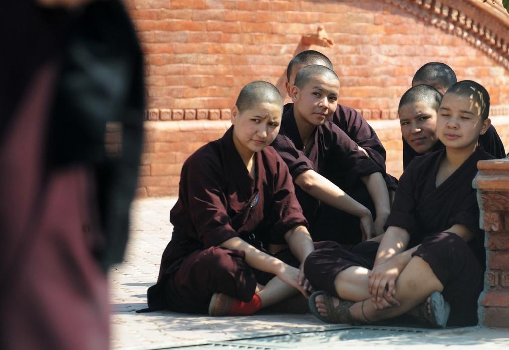 Nhung ni su luyen vo Viet Nam tren day Himalaya hinh anh 8