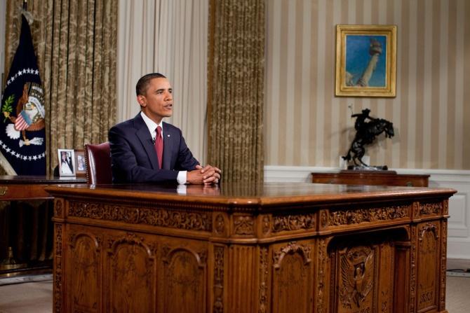 Nhung khoanh khac hau truong cua Obama suot 8 nam qua hinh anh 7