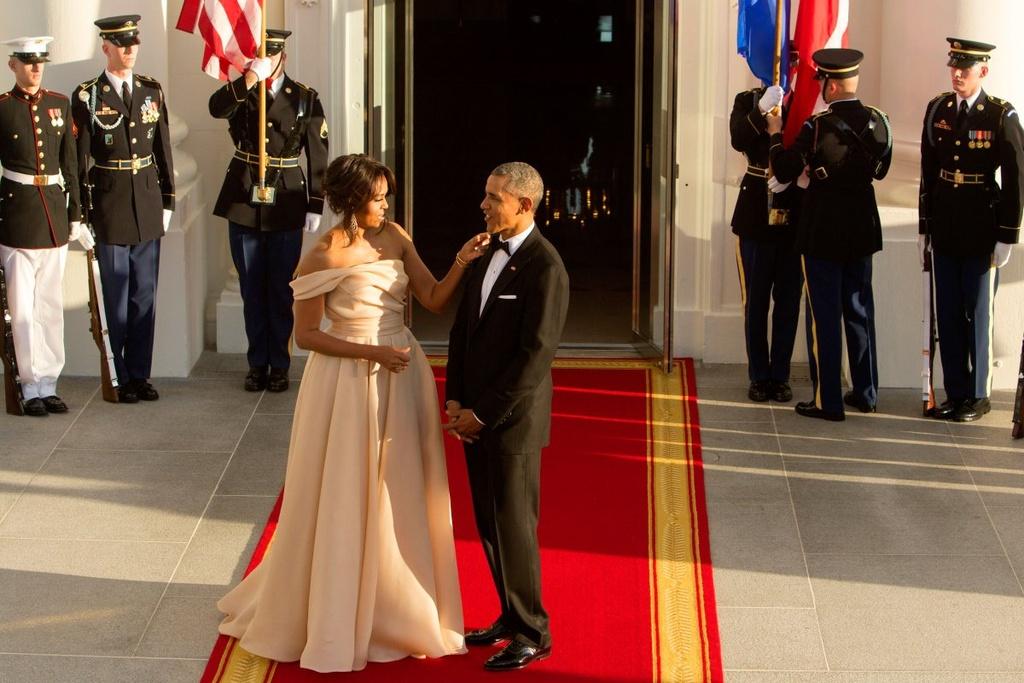 Chuyen tinh yeu vo chong Obama anh 9